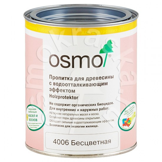 Пропитка на основе масла воска для дерева OSMO
